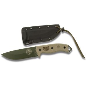 ESEE 5P-OD Green Survival Knife w/ Sheath
