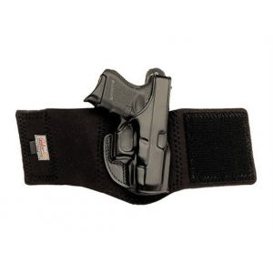 Galco Black Right-Handed Ankle Glove for Glock 19, 23, 32