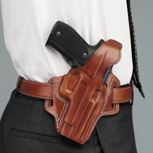 Galco Tan Right-Handed Fletch High Ride Belt Holster for Sig Sauer P229, P228