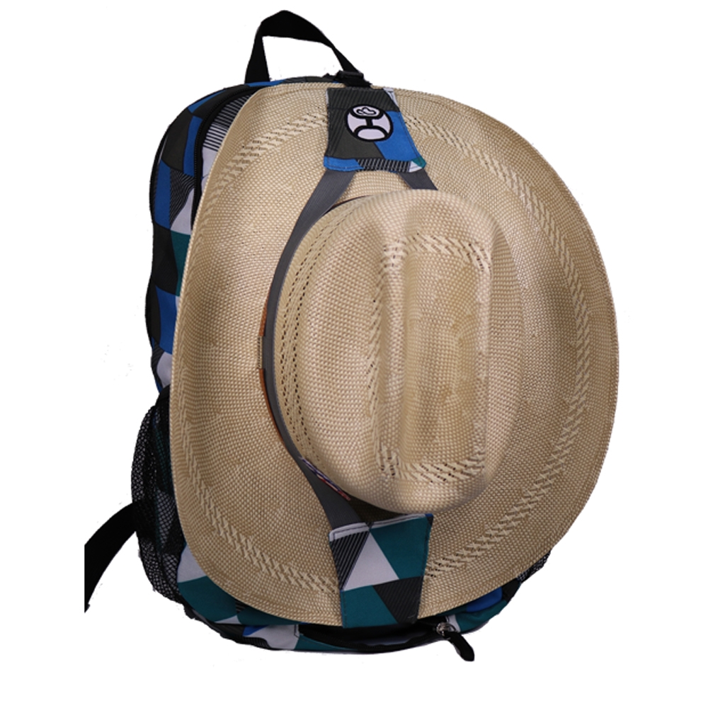 37d63e00c15b Hooey Brand Rockstar Tortola Textured Blue Backpack - BP006-BL